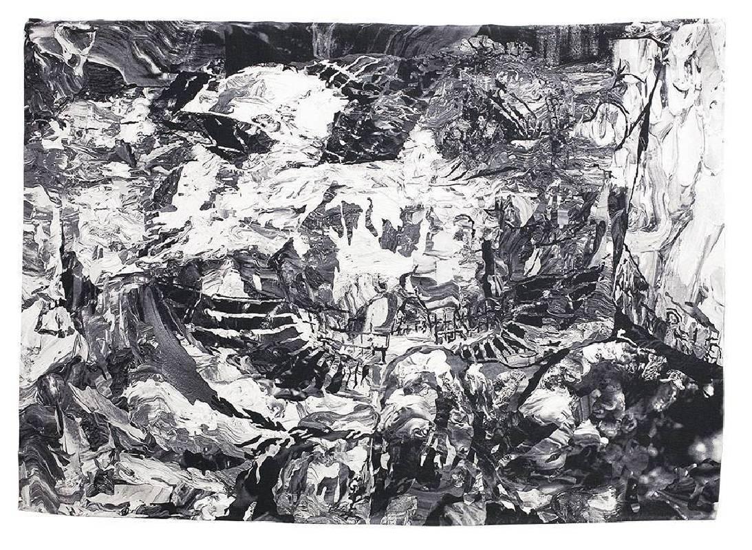 《失落的對話》 Conversation Among Ruins  2018 tapestry 織毯 200 x 290 cm Ed. 1/3