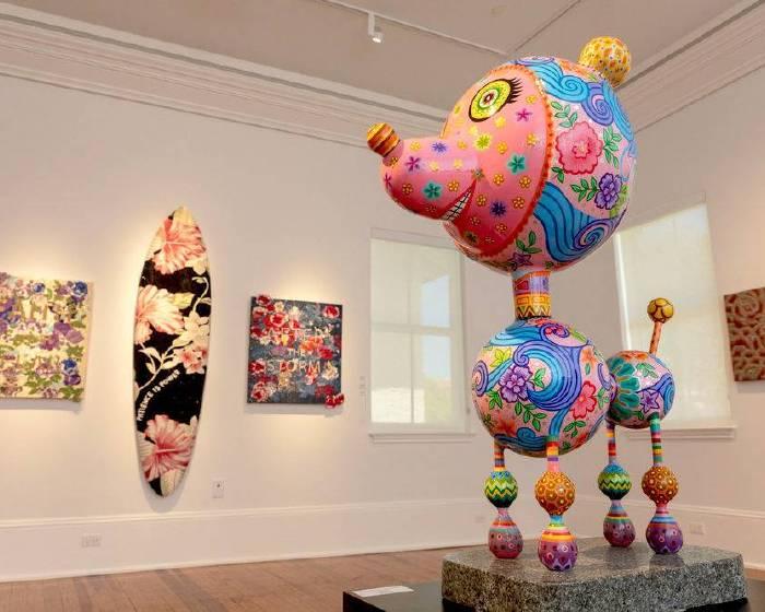 印象畫廊【美國康乃爾美術館邀請洪易參與 Flora 當代藝術聯展】