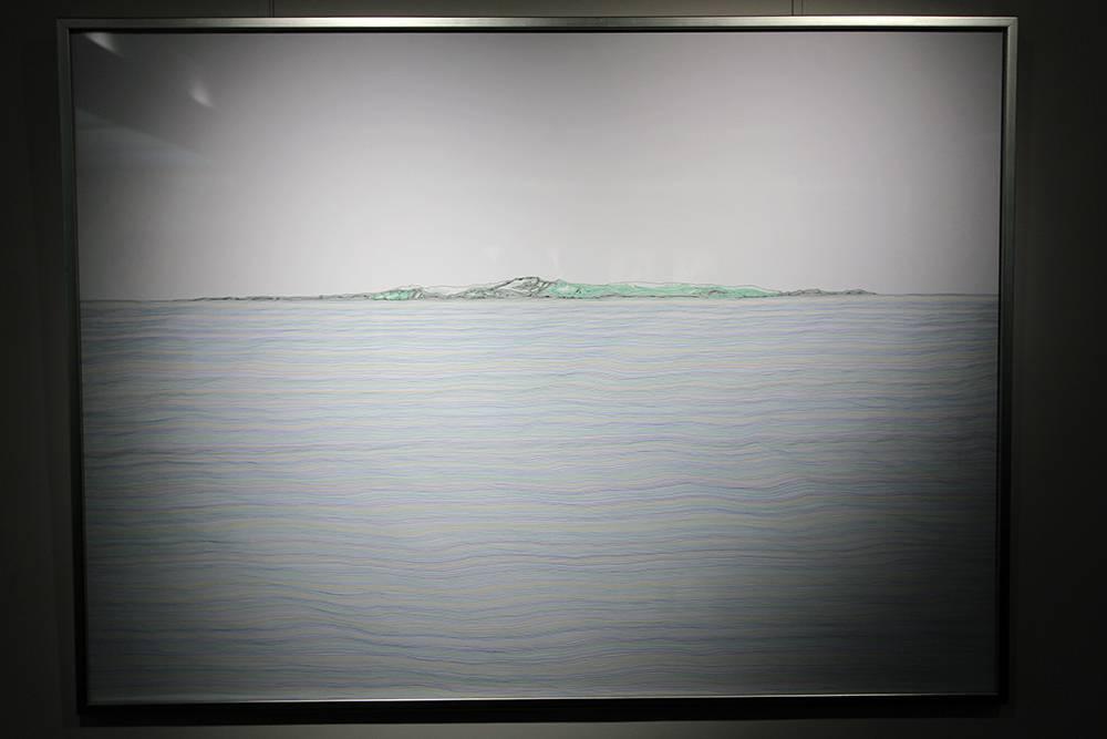 王昱翔,《定位系列-22°》,2017