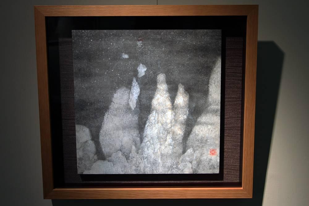 黃郁筑,《漂浮於碎屑之上》,2018