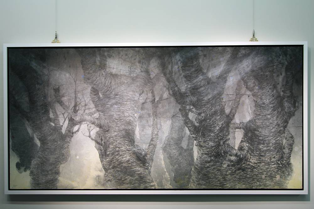 黃郁筑,《在樹梢》,2015
