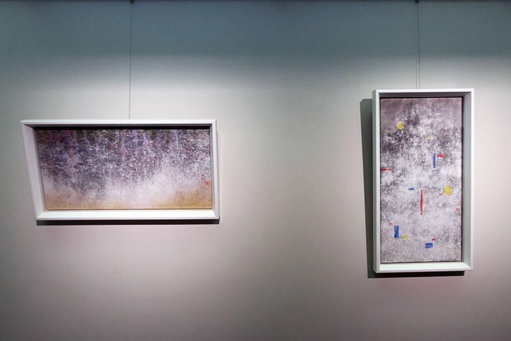 黃郁筑,《(左起)失真3、1》,2018