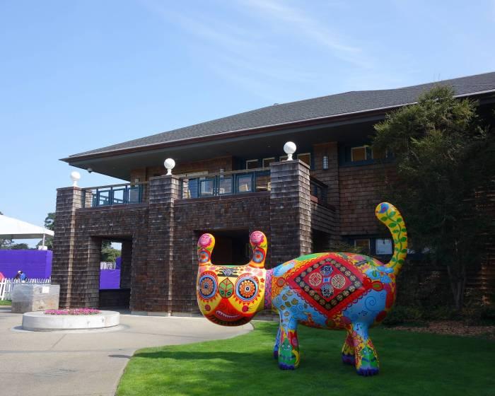 印象畫廊【2014 洪易 美國舊金山默賽德湖高爾夫球場地景裝置】