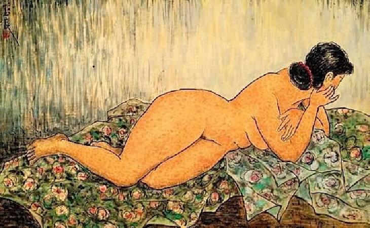 潘玉良,《Sans titre》,1930。圖/取自wikimedia