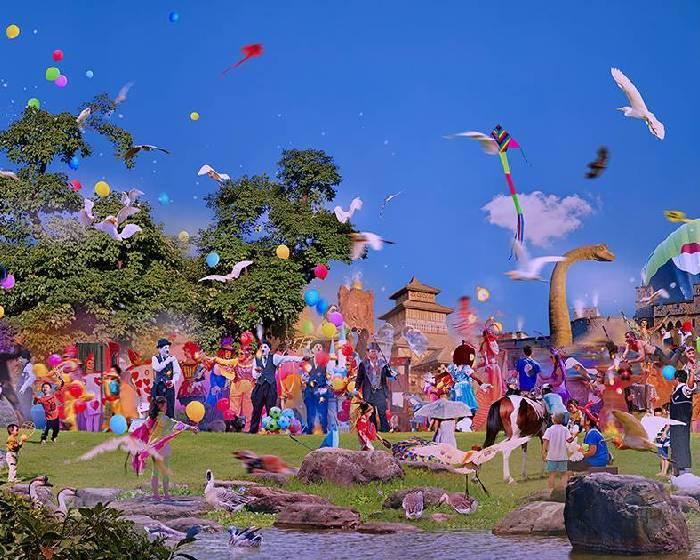 華岡博物館【My Wonderlands.我的奇幻俗世樂園】翁銘邦個展