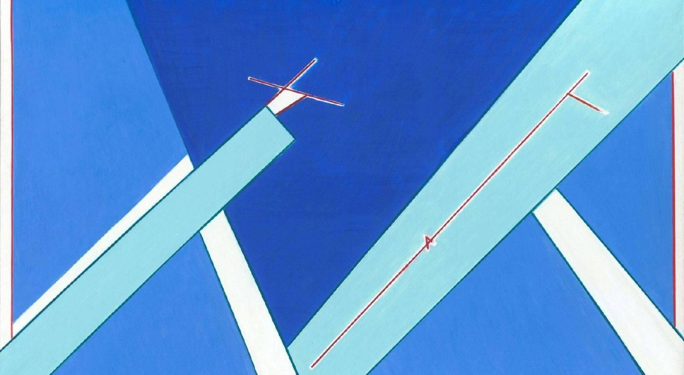 [C、D展廳] 源起之21 111x193cm 油彩、畫布 2006