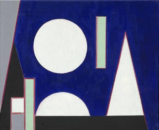 [E展廳] 抽象2015-066 50x60.5cm 油彩、畫布 2015
