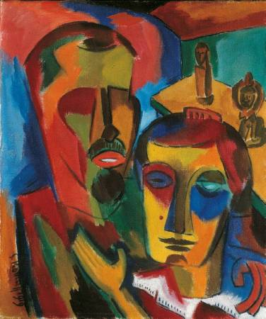 《雙人肖像》, Double portrait。圖/取自Wiki