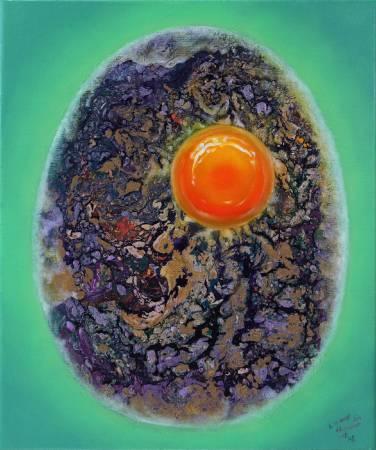 《單眈誕蛋All about eggs》。圖/藝聚空間提供。