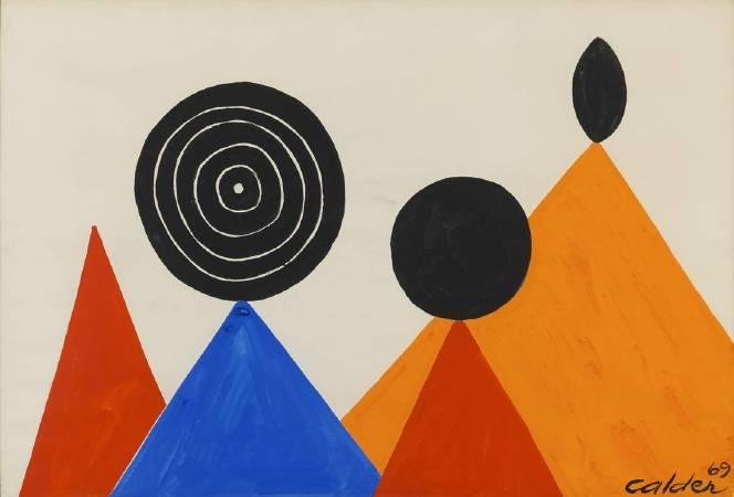 《Sur les Pointes》, Alexander Calder.