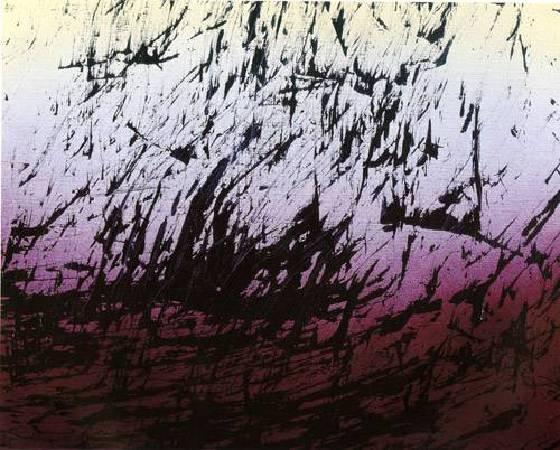 Hans Hartung,《T1982-H12》,1982。圖/取自Wikiart。