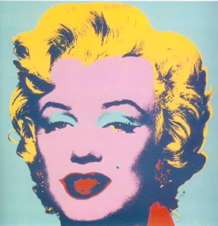 Andy Warhol,Marilyn。圖/ 取自Flickr。
