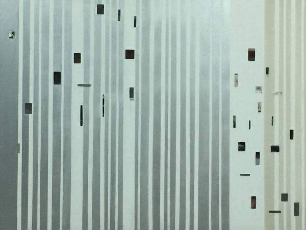 蔡志榮 符語編碼 9  130cm x98cm  2012
