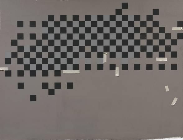 宋曉明 困惑 112x145.5cm cm 油彩、壓克力、比利時畫布 2015