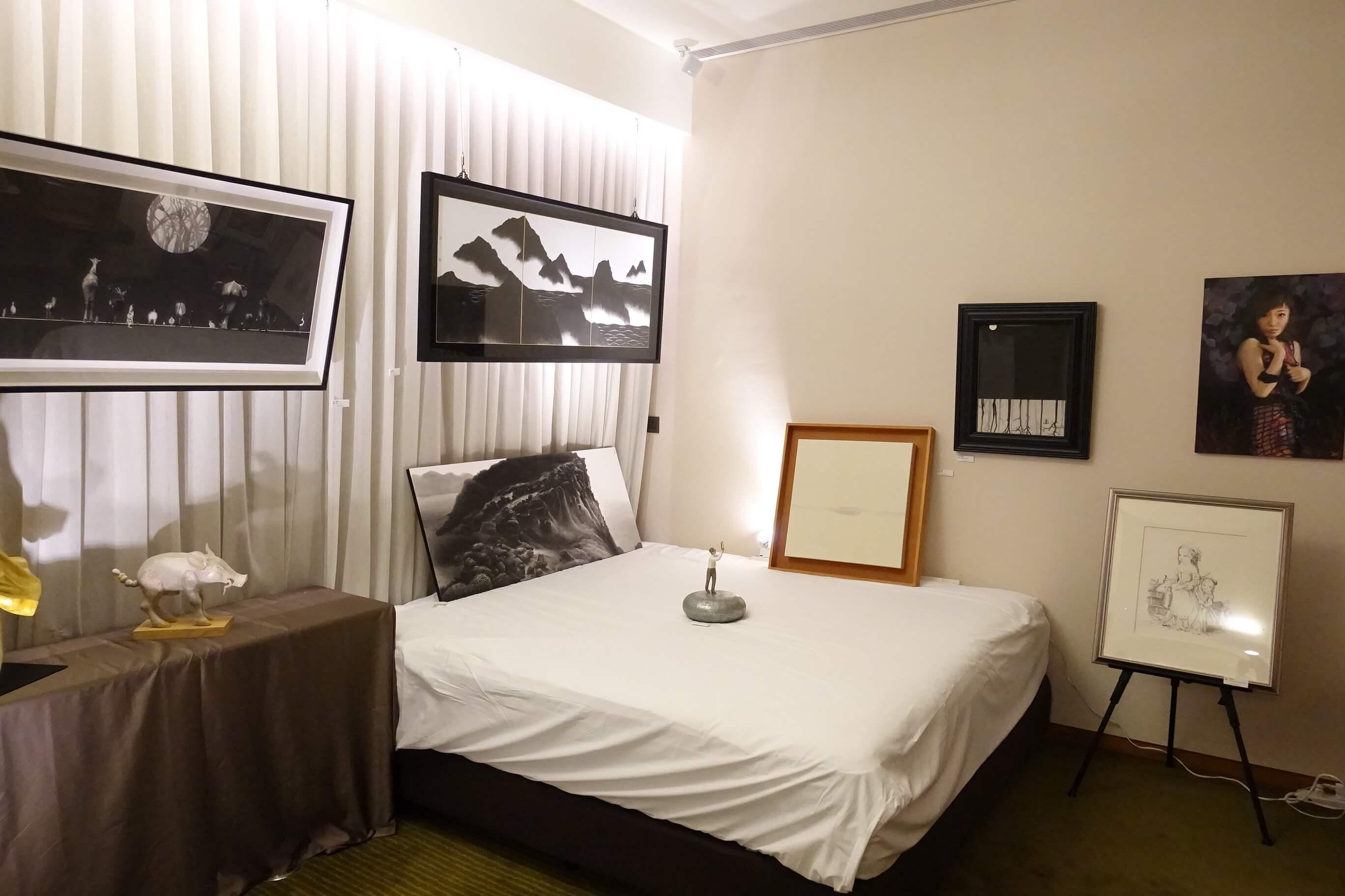 晴山藝術展示空間作品。