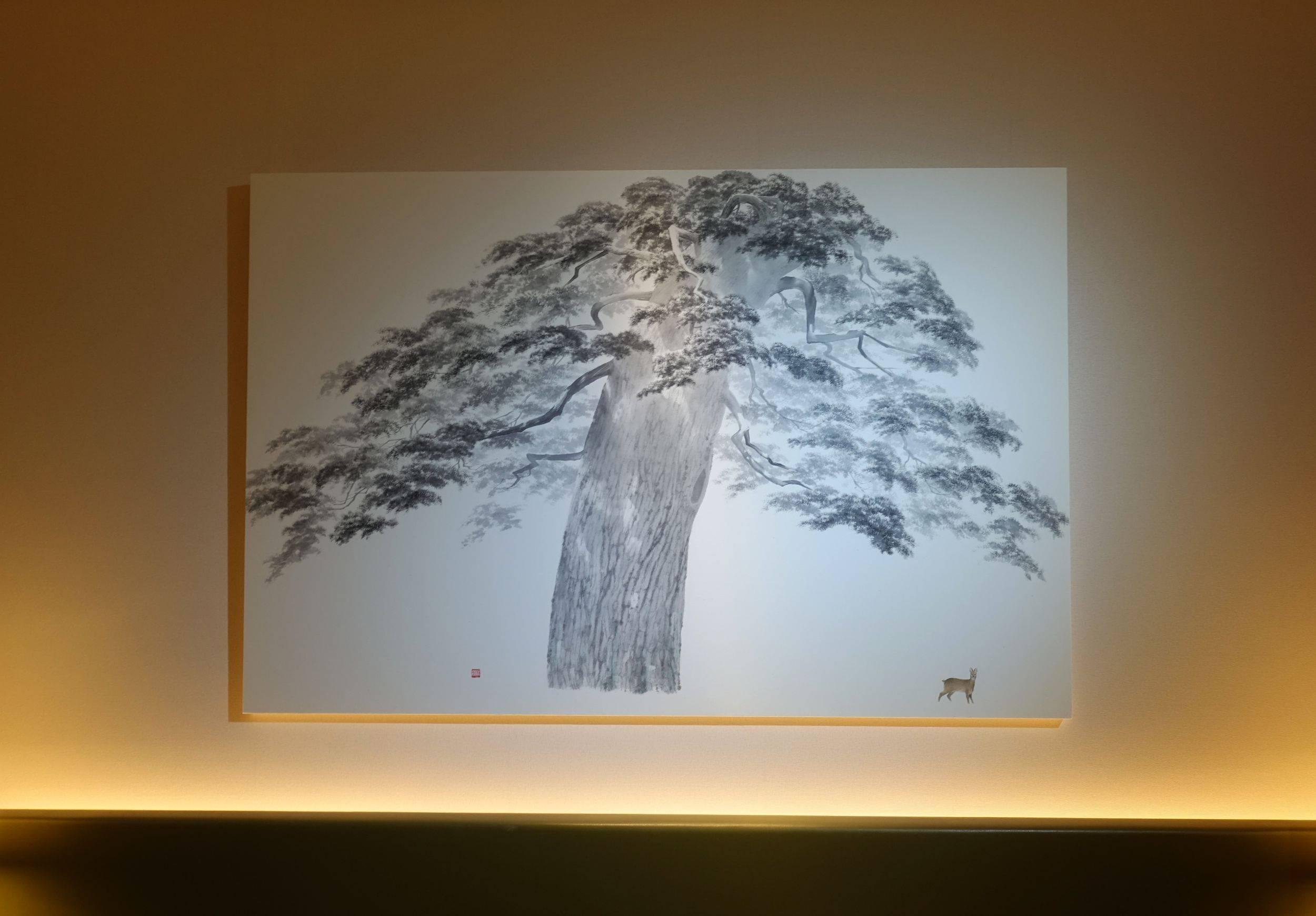 台中美丘美术展間 ,藝術家宋勝浩作品。