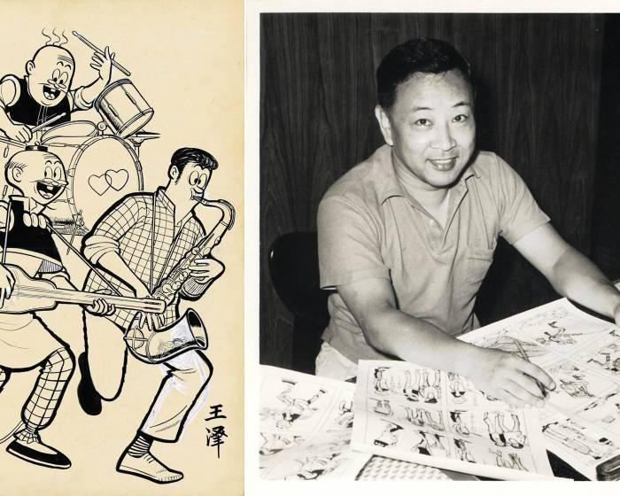 香港蘇富比辦《老夫子》漫畫展 拍賣現存最早《老夫子》封面手稿