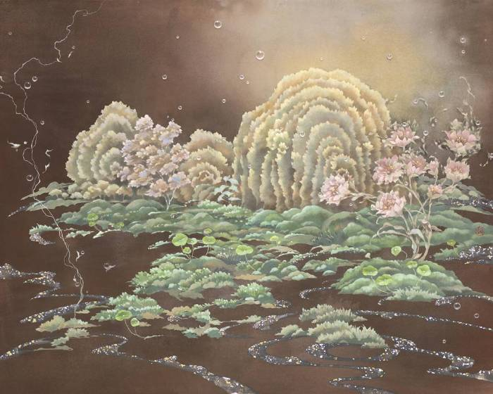 穎川畫廊【浮流 凝想-簡詩如個展     Floating Flow  Meditation - Chien Shih Ju Solo Exhibition】
