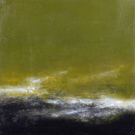 周宸Chou Chen / 行雲Floating Clouds 油畫 Oil on canvas  60x60 cm 2016