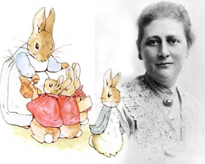 07月28日 Beatrix Potter 生日快樂!