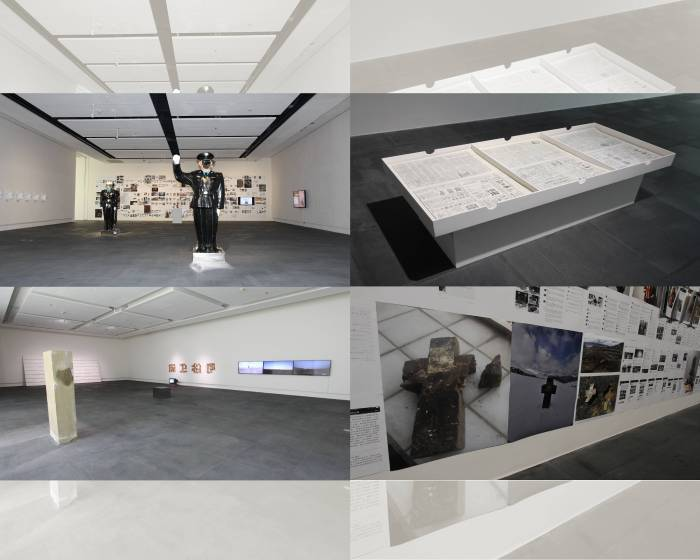 歷史真相與現代辯證 關渡美術館展出李勇政的《紅色墟•現實誤》