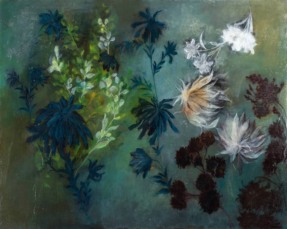 林瑩真-多莉的花園-油彩 壓克力彩 畫布-72.5x91cm-2018
