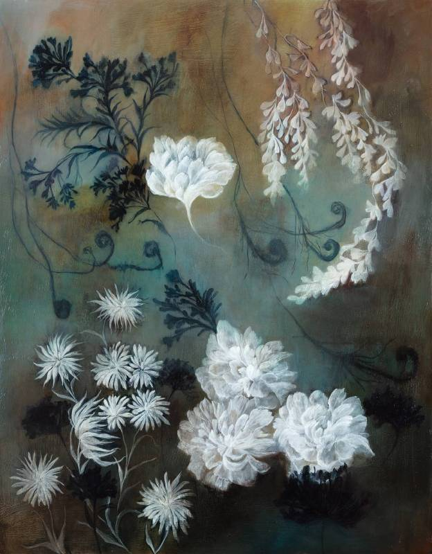 林瑩真-記憶之凝-油彩 壓克力彩 畫布-116.5x91cm-2018