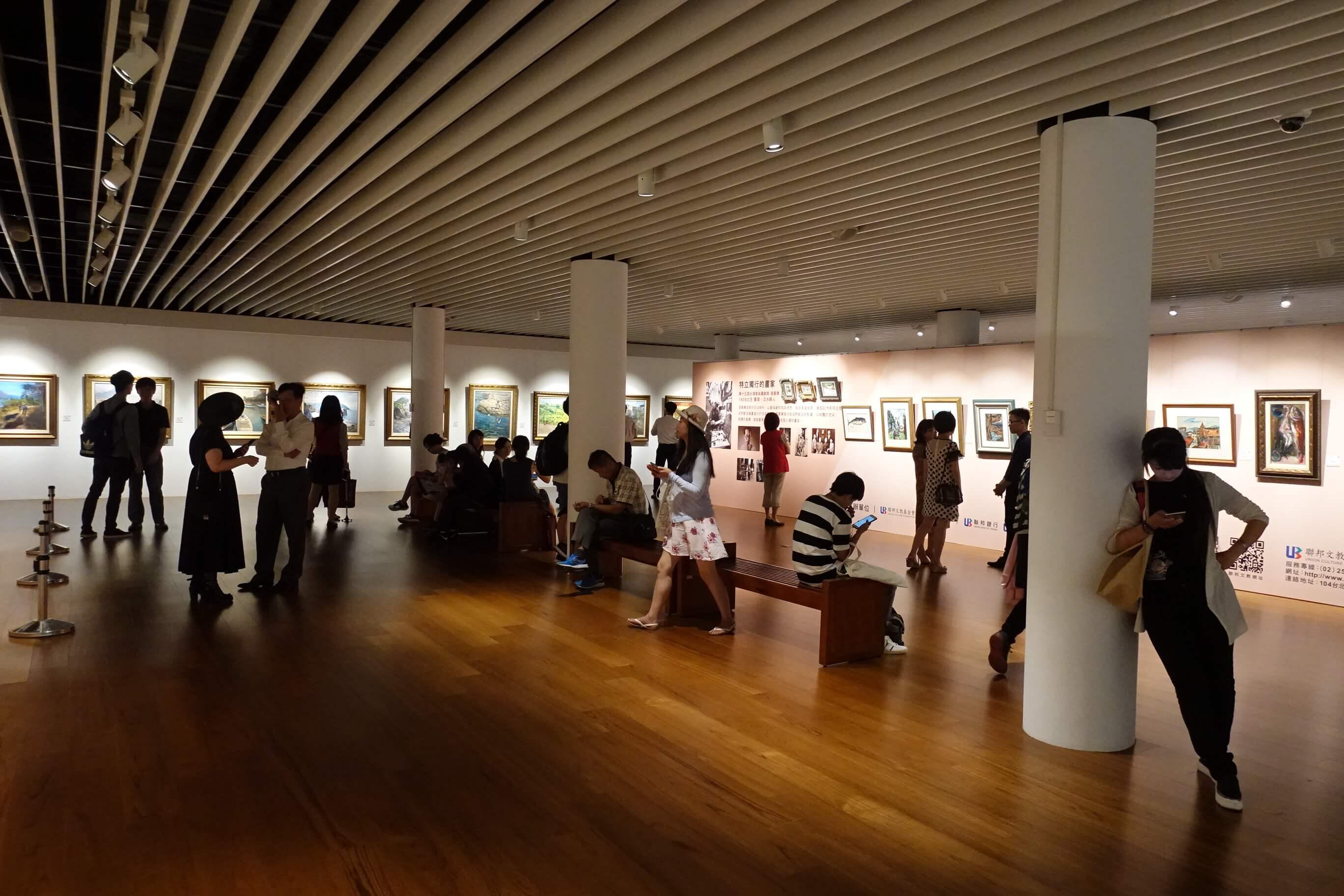展覽空間照。