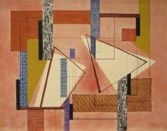佩雷拉,《Abstraction》,1932年。圖/取自Wikipedia。