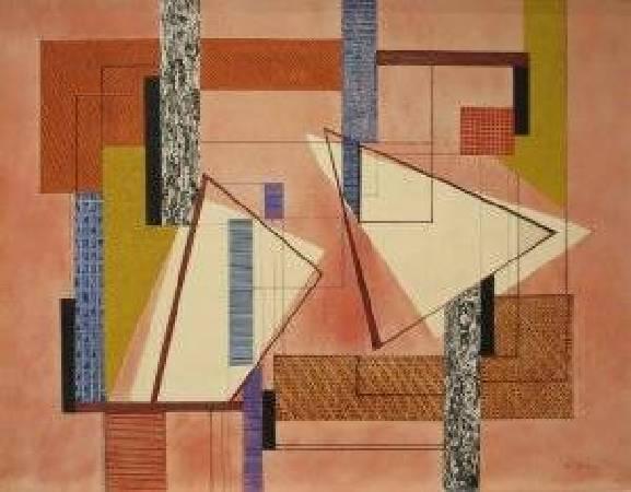 佩雷拉,《Abstraction》,1940年。圖/取自Wikipedia。