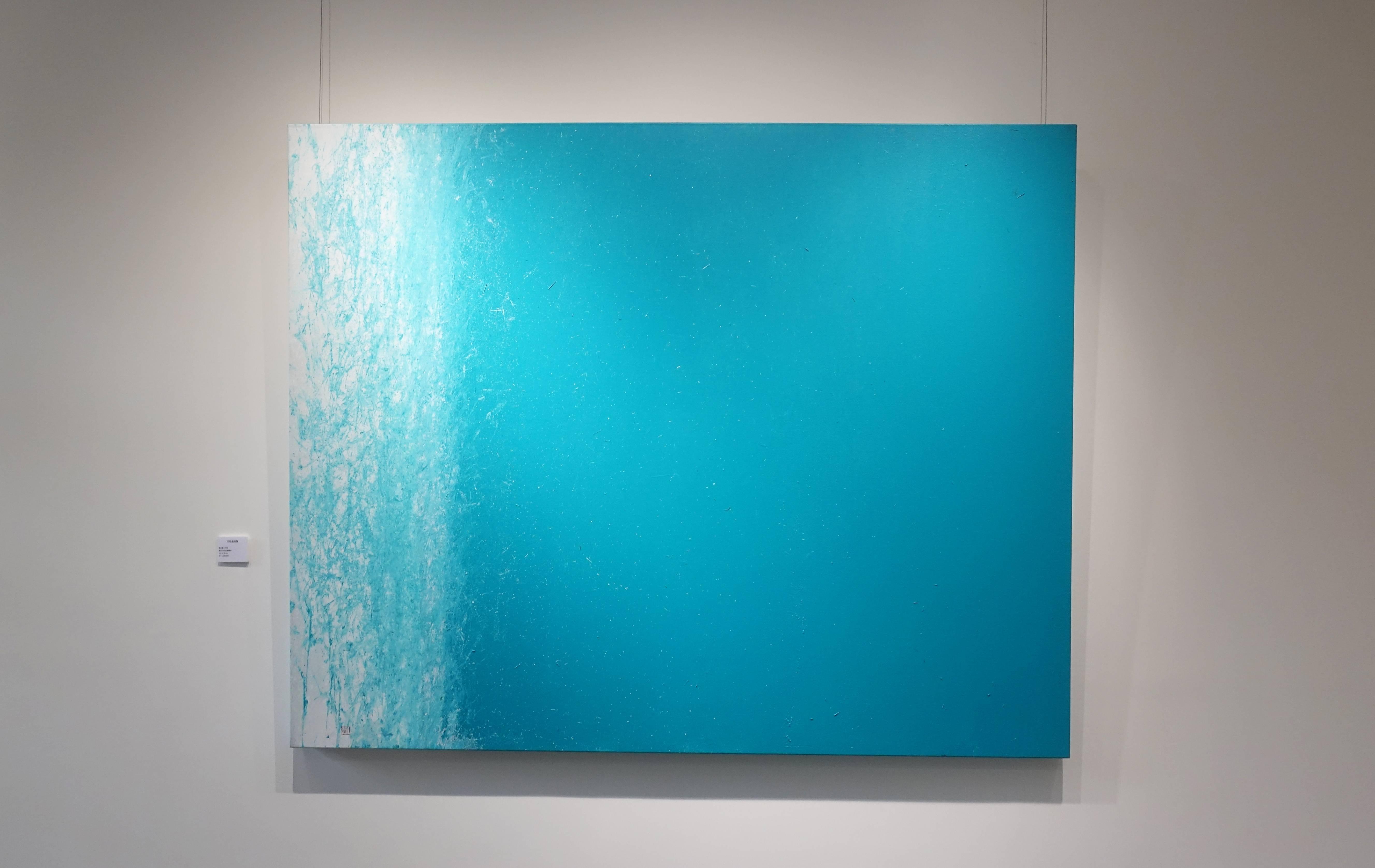 陳正隆,《竹枝風雨聲》,壓克力彩全麻畫布,2018。