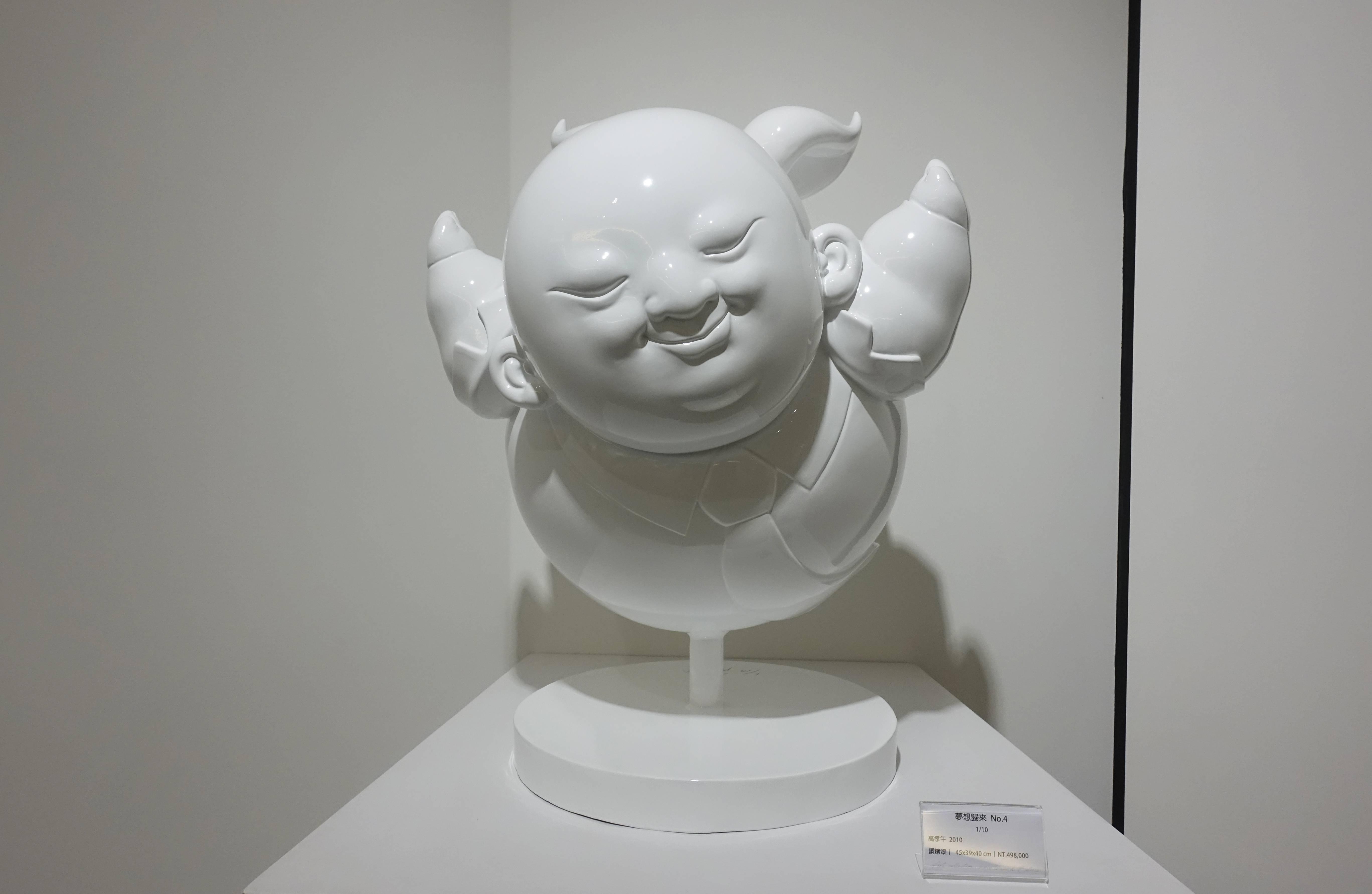 高孝午,《夢想歸來 No.4》,銅烤漆,2010。