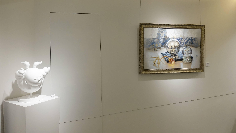 藝時代畫廊展場一景。
