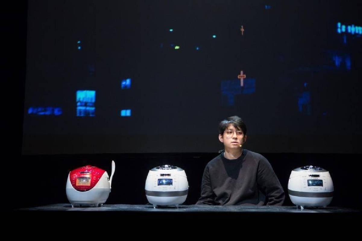 南韓藝術家具滋昰Jaha Koo《Cuckoo電子鍋》