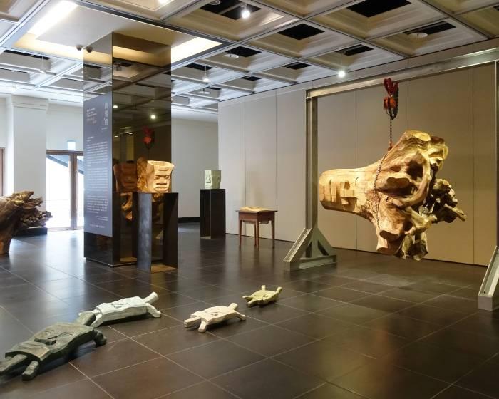 順天建築‧文化‧藝術中心:《 自刻相與自刻像 》賴永興個展