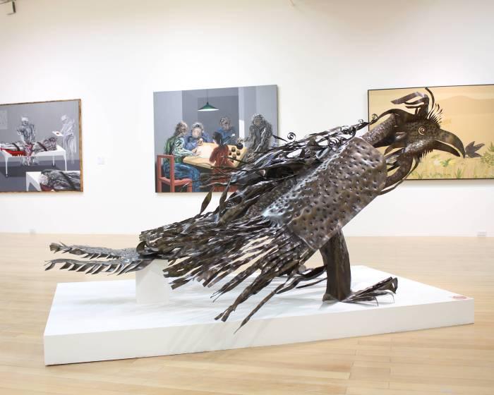 北美館展出台灣現代藝術巨匠 夏陽《觀‧遊‧趣》