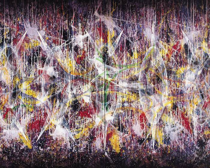【楊仁明的抽象世界】不安定的聯結—到—幾何抽象世界