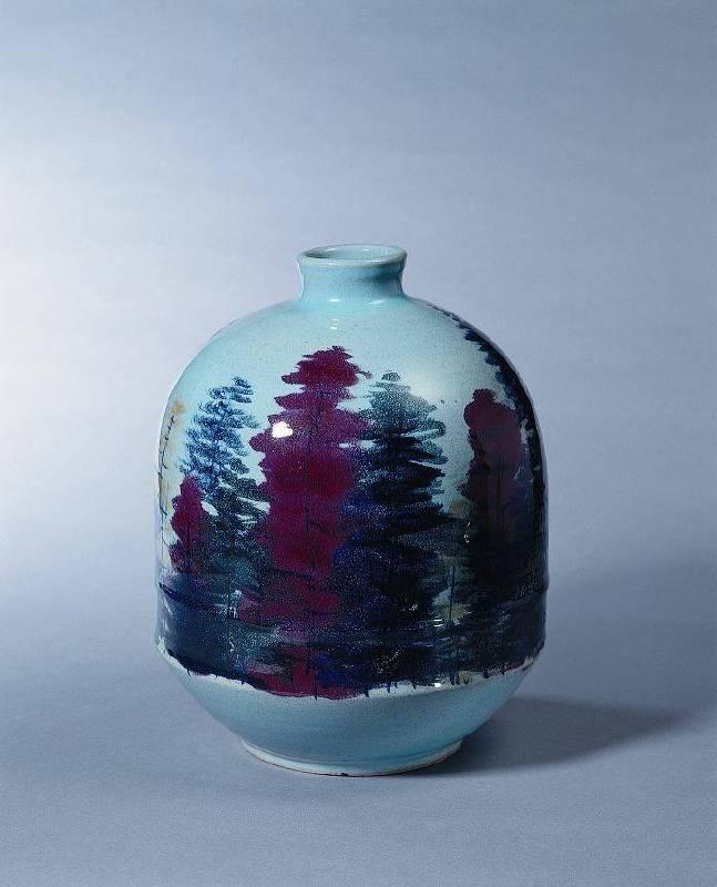秋景|1990|陶藝|29x29x35cm