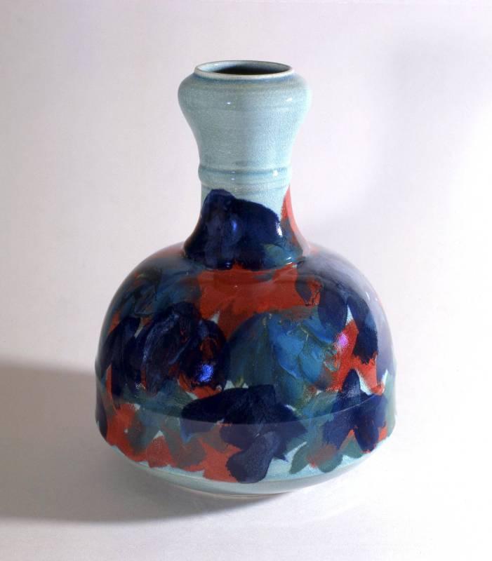 婆娑|1989|陶藝|25x25x38cm