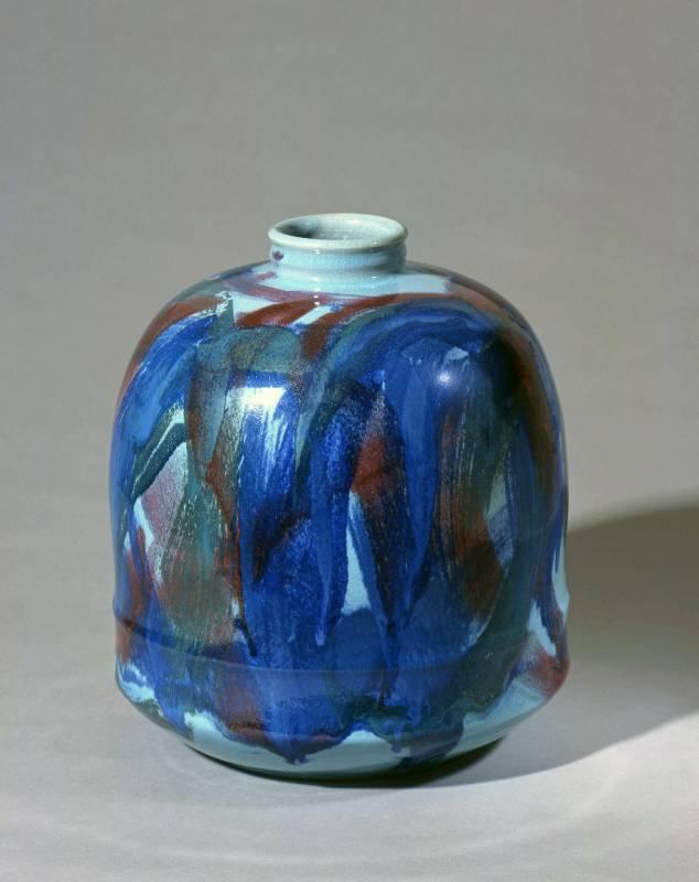 豐饒|1989|陶藝|30.2x30.2x34.3cm