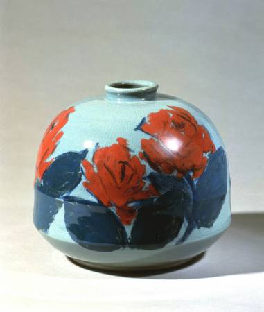 林葆家|玫瑰1989|陶藝|30x30x26cm