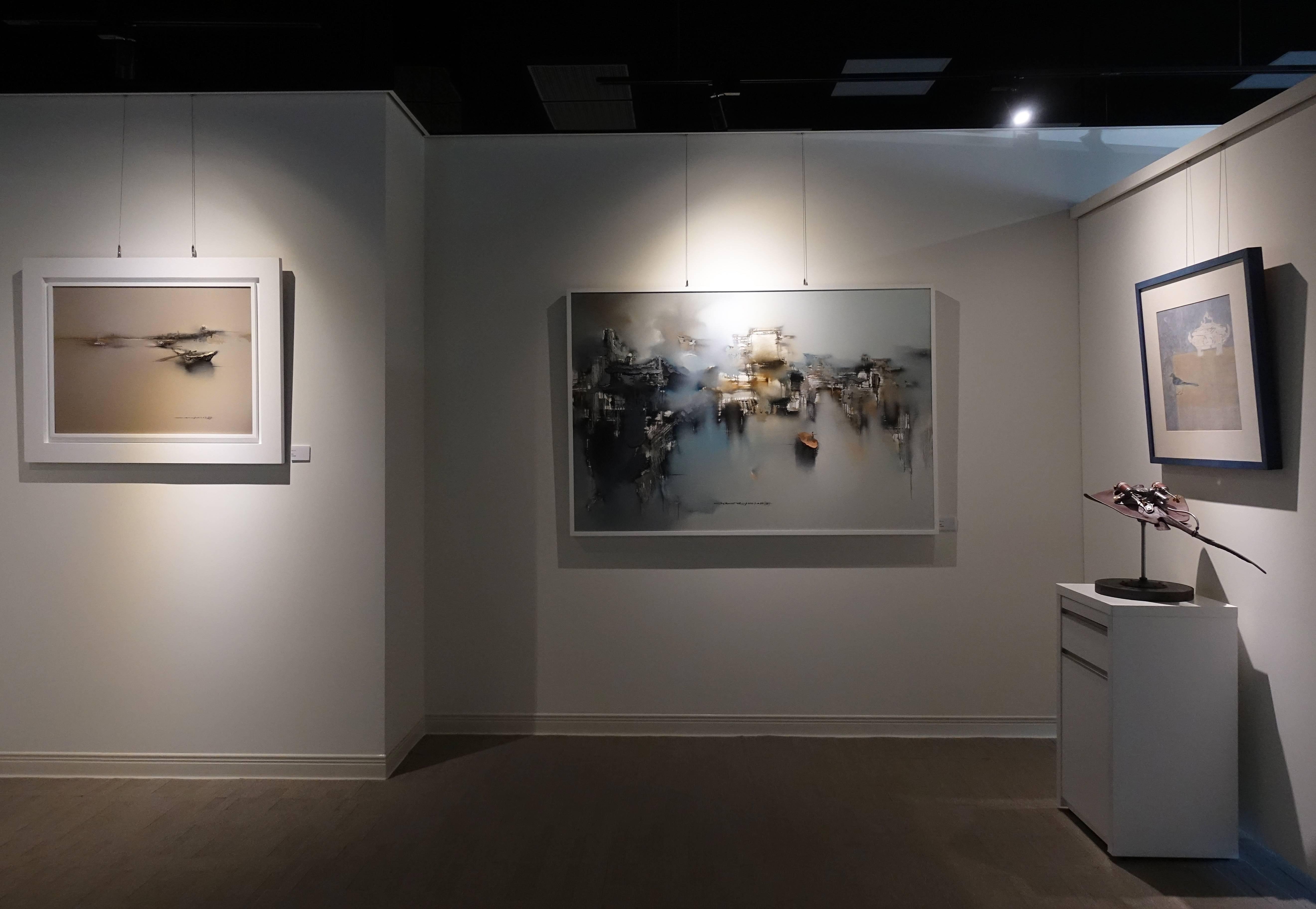 畫廊展場一景。