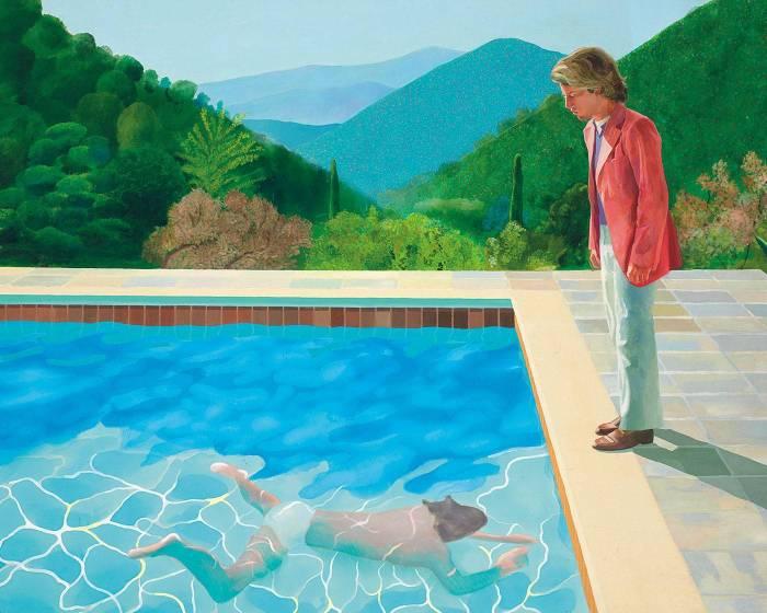 David Hockney佳士得秋拍要賣24億 有望成為在世藝術家史上最貴之作