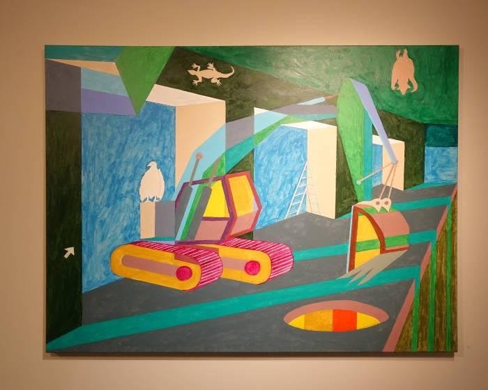 有璽藝術空間:文明反思–曾長生作品展從童年到數位靈光