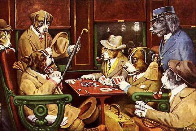 His Station and Four Aces。圖/取自wikimedia