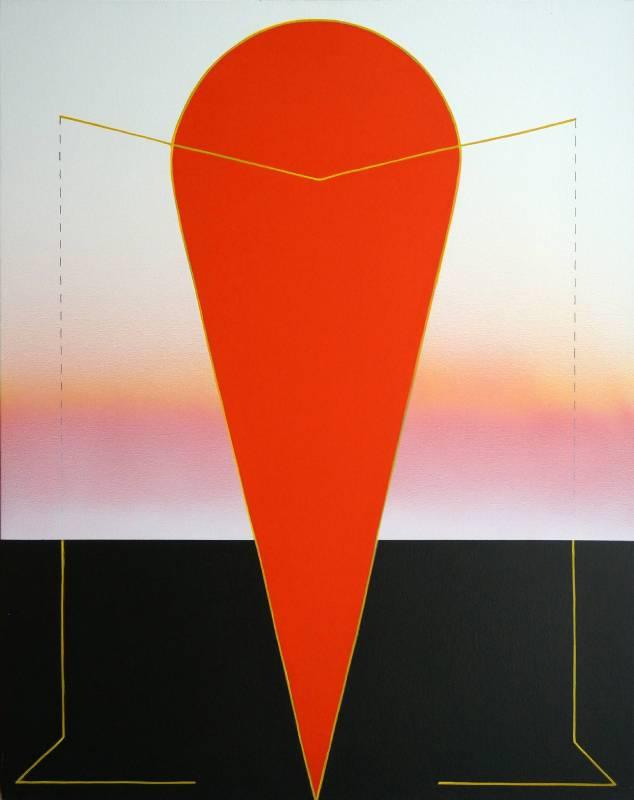 Etsuko TAKATSUJI_記憶の残像-ひとのかたち。圖/也趣藝廊提供
