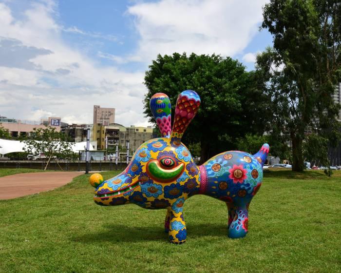 印象畫廊【2018桃園產業藝術節開幕】穿梭於循環再生與藝術創作間的奇幻巡旅