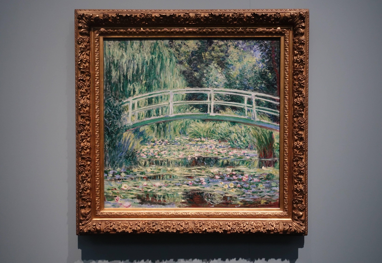 克勞德•莫內 Claude Monet ,《白色睡蓮 WhiteWaterLilies》,油彩、畫布 Oil on canvas,1899。