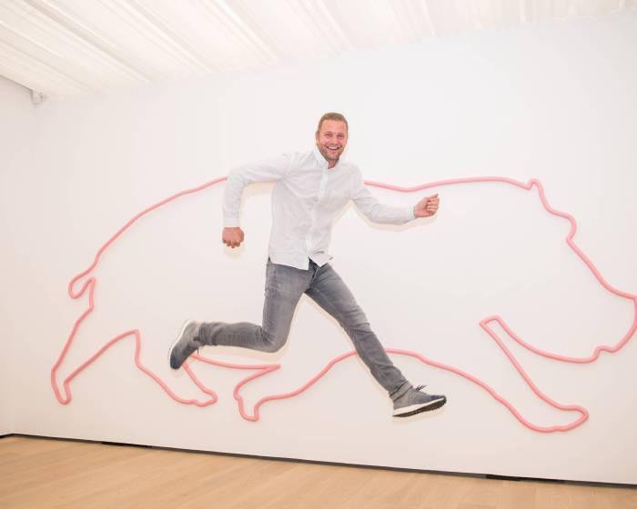 〈黃色小鴨〉藝術家-弗洛倫泰因·霍夫曼個展《玩遊世界》將於白石畫廊展出