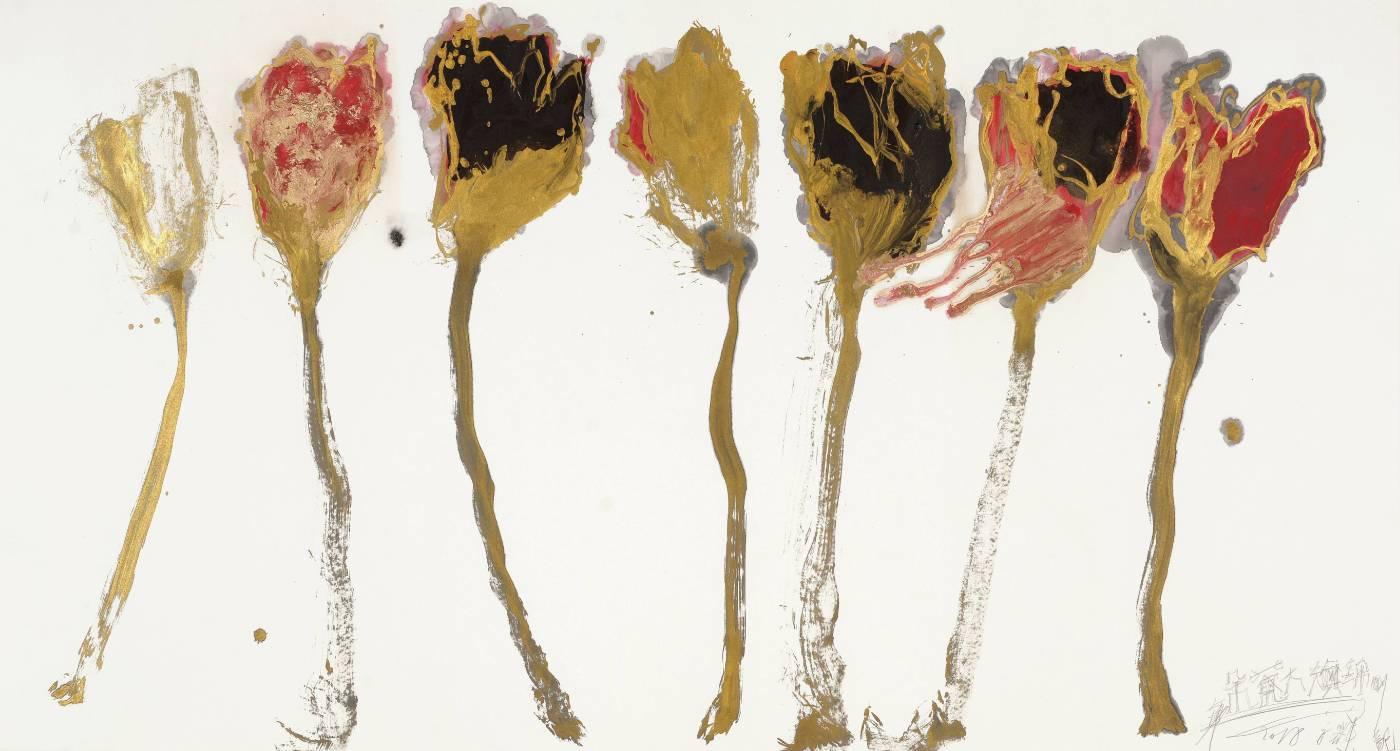 魏立剛作品《金枝大梅朵–錦榮》。